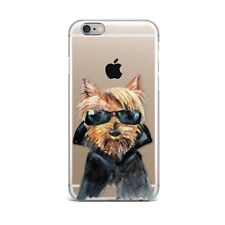 Cute Puppy Dog Art Design Silicone Rubber Gel Case For IPhone 4S 5S 6S 7+