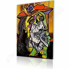 CANVAS (Rolled) Weeping Woman Pablo Picasso Wall Art Pictures Oil Paints