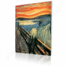 CANVAS (Rolled) The Scream Edvard Munch Oil Paintings Prints Canvas For Bedroom
