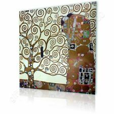 CANVAS (Rolled) Tree Of Life Gustav Klimt Oil Paints Wall Art Pictures Artwork