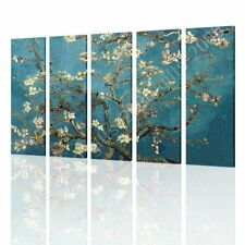 CANVAS (Rolled) Almond Blossom Vincent Van Gogh 5 Panels Art Painting Paintings