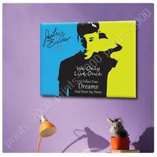 Alonline Art - POSTER Or STICKER Decals Vinyl Justin Bieber Never Say Never