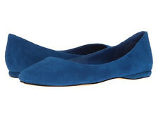 NINE WEST WOMENS SPEAKUP BLUE SUEDE SHOES 2017 **FREE POST AUSTRALIA