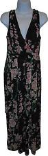 USED Ladies Mela Love London Black Floral Decal Dress Size 12 (L.W)