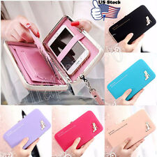 Women Leather Wallet Purse Lady Clutch Handbag Phone Card Holder Tote Bag Box