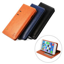 Luxury Classic Leather Stand Flip Back Cover Case Wallet for iPhone 6 6s 7 Plus
