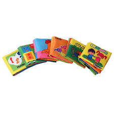 Hot sale Soft Fabric Cloth Book Baby Early Development Educational Toy Gift
