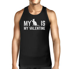 My Cat My Valentine Mens Tank Top Valentine's Gifts For Cat Owner