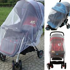 Newborn Baby Stroller Pushchair Buggy Pram Mosquito Insect Net Mesh Buggy Cover