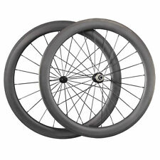 700C 60mm Clincher Carbon Wheels Road Bicycle Road Bike Ceramic Bearing Wheelset
