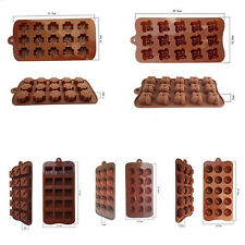 Jelly Ice Baking Hot Chocolat Mould Cake Cookie Candy Muffin Mold Bakeware 1pcs