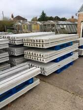 CONCRETE SLOTTED FENCE POSTS FENCING AND PANELS H POSTS GRAVEL BOARDS WET CAST