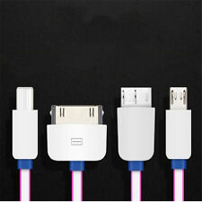 1Pcs Android Multifunction Convenience Cable Small Size USB IOS Charger 4in1