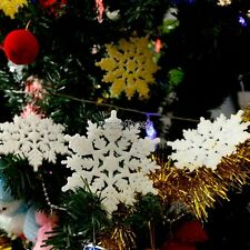 15 or 30Pcs/Pack Details about Christmas Tree Room Decorations Glitter WST