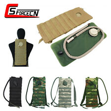 2.5L Molle Hydration Water Pouch Reservoir Bladder Backpack Bag Tactical Airsoft