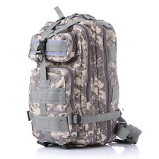Camo Tactical Outdoors Travel Bag Cycling Military Sport Mountaineer Backpack