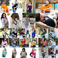 BABY SLING STRETCHY WRAP CARRIER by LIBERTY BABY SLINGS 20 colors