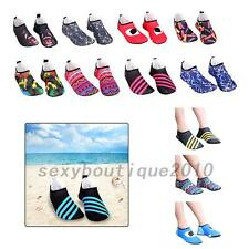 Men's Women's Swim Yoga Sports Socks Aqua Slip On Pool Beach Water Shoes Soft