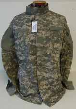 Flame Resistant Combat Uniform Coat FRACU ACU Size Large Long New With Tags