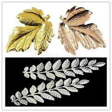 12 Metal Maple Leaf Leaves Charms Pendants Jewelry Findings Wedding Pary Decor
