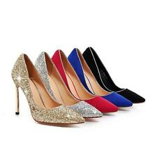 Chic Party Womens Pointy Toe Court Shoes Stilettos High Heels Pumps New Fashion