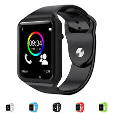 New Bluetooth Sports SIM Smart Wrist Watches Touch Screen Phone Mate For Android