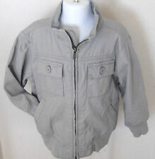Gymboree Boy's Spy Guys Gray Light Weight Jacket Size XS(3-4)