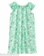 NWT Gymboree Girls Bee and Daisies nightgown size 5/6  Girls