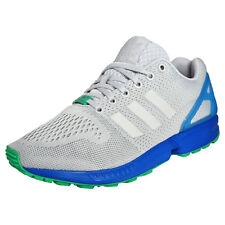 Adidas Originals ZX Flux Mens Classic Casual Gym Fitness Trainers Grey