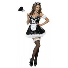 Sexy Maid Outfit Adult Halloween Costume French Fancy Dress