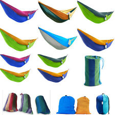 Portable Hammock With Mosquito Net Outdoor Camping Parachute Swing Fabric Travel