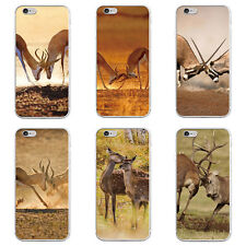 Fashion Deer Protective Case Cover for iPhone7 Samsung Galaxy S7 Edge Handy