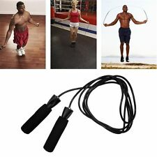 Aerobic OPercise Boxing Skipping Jump Rope Adjustable Bearing Speed Fitness IJO