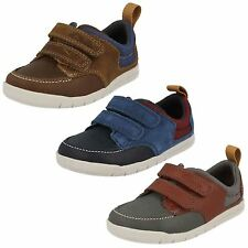 Infant Boys Clarks First Casual Shoes 'Crazy Jay'