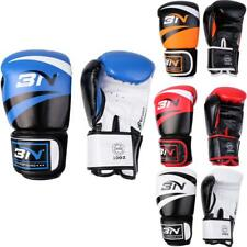 PU Leather Boxing Gloves Sparring Punch Bag Muay Thai kickboxing Training Mitts