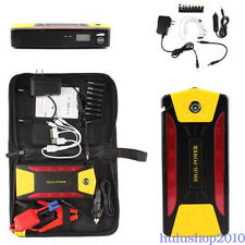 12V 82800mAh Portable Car Jump Starter Booster Charger Battery Power Bank ABS