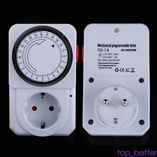 1X Digital Timer Switch 220-240V AC Automation Electric Programmable 24 hours