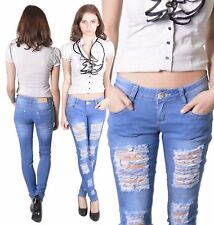 255 Ladies Jeans Trousers Low-rise Trousers Röhrenjeans Hipster Jeans Jeans