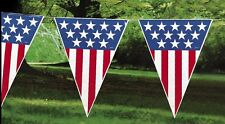 Patriotic Pennant Banner, Memorial Day, 4th of July, Labor Day Parties,...