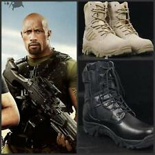 Men's Shoes Special Forces Military Boots Army Boots Tactical Combat Lace Up New