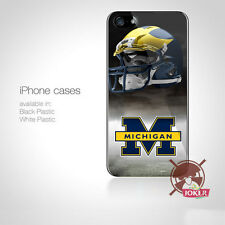 MICHIGAN WOLVERINES Logo For iPhone Samsung HTC Ipod Touch Case Cover n8