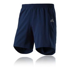 "Adidas Response 7"" Mens Blue Climalite Running Gym Shorts Pants Bottoms"