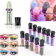 Eye Shadow Makeup Shimmer Glitter Pigment Loose Powder Eyeshadow Single Roller