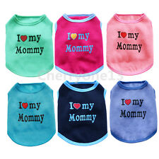 Small Medium Dog Hoodie Cat Clothes Pet Pajamas Coat Teacup Chihuahua Schnauzer
