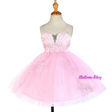 Bead Sequins Appliques Tulle Wedding Flower Girl Party Dress Size 2T-7 FG303