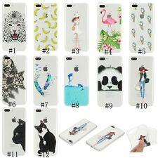 Fashion Hybrid Soft TPU Back Cover Skin Case For Apple iPhone 5 5s 6 6s 7 Plus