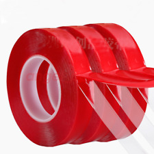 0.5mm 1mm VHB Double-sided Clear Transparent Acrylic Foam Adhesive Tape Long 10M