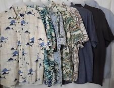 MENS BUTTON FRONT SHIRTS SIZE X-LARGE