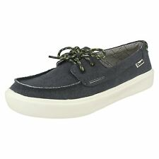 MENS HEY DUDE KOLA LACE UP LIGHTWEIGHT CANVAS CASUAL BOAT DECK SHOES