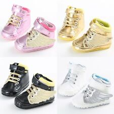 0-12M Baby Boy Girl Winter Warm Boots Sneakers Toddler Kid Soft Crib Shoes Boots